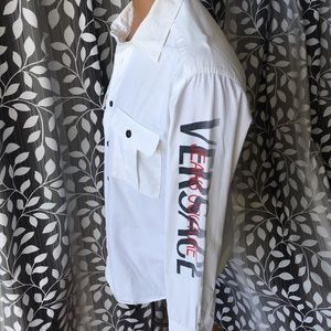 Versace Jeans Couture long sleeve button shirt